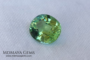 Soft Green Paraiba Tourmaline 2 40 ct with certificate