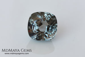 Grey Spinel 4.07 ct. Cushion Cut