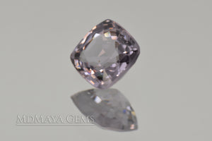 Grey Spinel 1.15 ct Cushion Cut.
