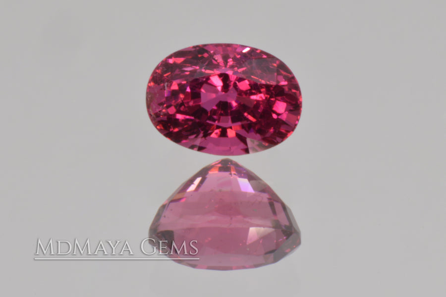 Intense Reddish Purple Rubellite 1.21 ct