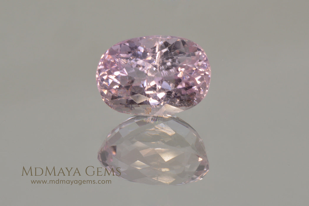 Natural Pink Kunzite 6.11 ct