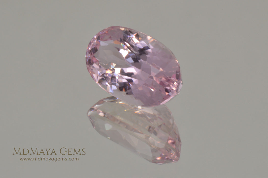 Light Pink Kunzite Stone 7.83 ct