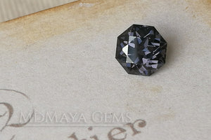 Beautiful Violetish Blue Spinel. Octagon Cut. 1.43 ct