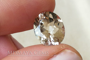 Lively pair of Light Brown Topaz 10.67 ct.