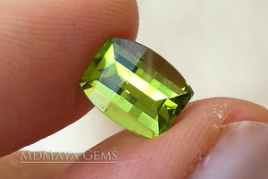 Natural Green Peridot Fancy Cut 2.28 ct