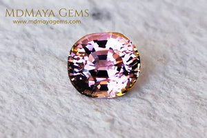 Pink Tourmaline 2.29 ct oval cut for sale MdMaya Gems
