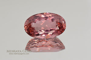 Natural Pink Tourmaline Gemstone Oval Cut 7.83 ct