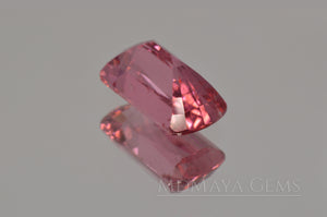 Hot Pink Tourmaline Gemstone Fancy Cut 3.07 ct