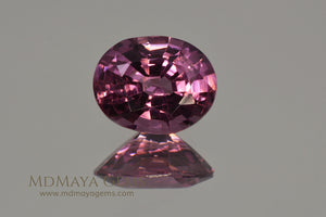Purple Red Spinel Oval cut 1.66 ct