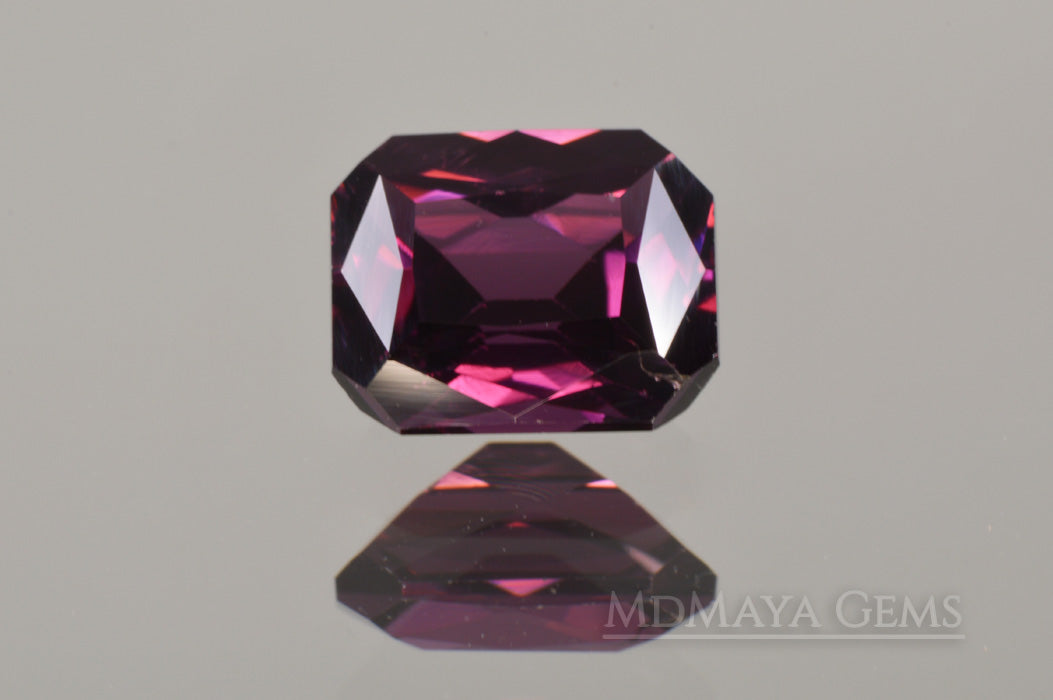 Purple Spinel from Vietnam. Octagon Cut 1.46 ct