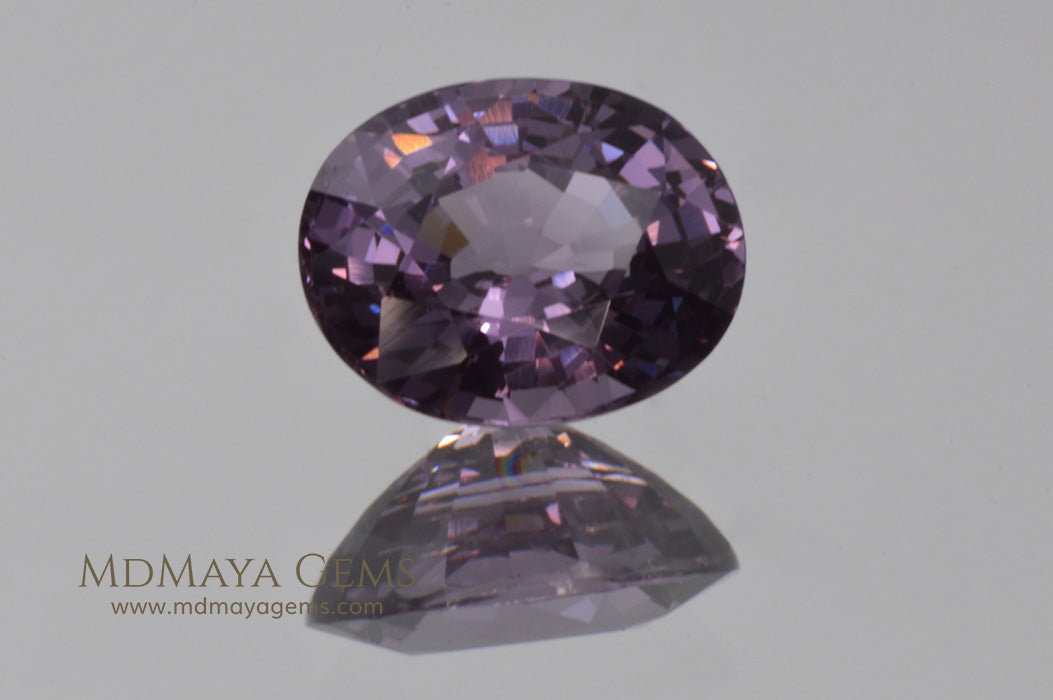 Beautiful violetish Purple Spinel from Tanzania Oval cut 2.01 ct