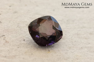 Purple Spinel 2.03 ct cushion cut