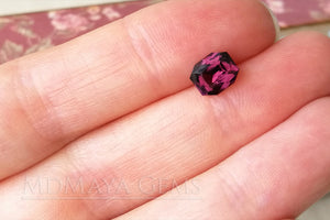 Purple Spinel Gemstone Octagon Cut 1.41 ct