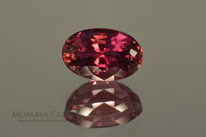 Natural Rubellite Tourmaline Oval Cut 5.15 ct