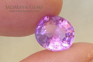 1.92 ct. .. 8.16 * 7.38 * 4.93 mm Pink Paraiba Tourmaline