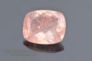 Strawberry Quartz (Quartz with hematite) 3.14 ct