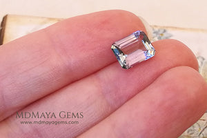Beautiful Purple Tanzanite Emerald Cut 2.50 ct