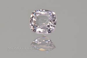 Shimmering White Spinel 0.92 ct Cushion Cut