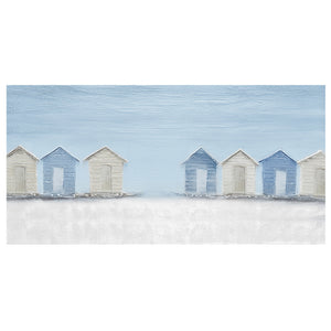 Beach Cabin Painting