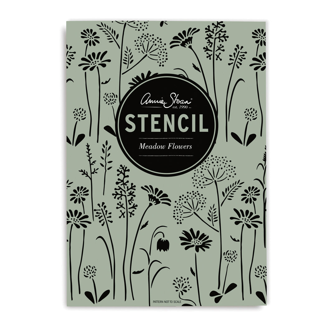 Stencils by Annie Sloan - Meadow Flowers