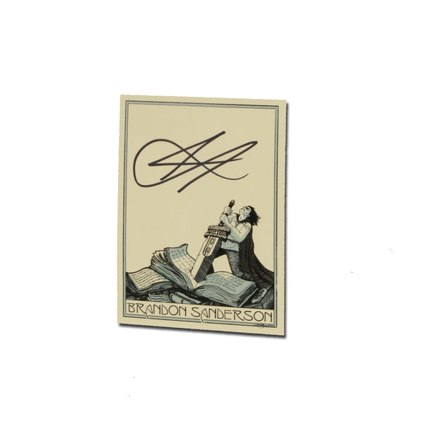 5-Pack of Signed Bookplates