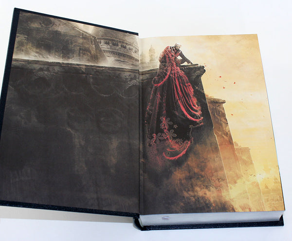Elantris Leatherbound Book