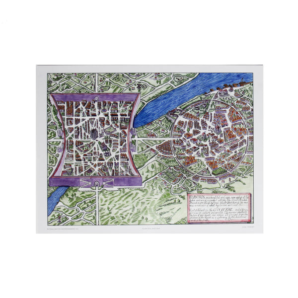 Elantris Maps Poster Set