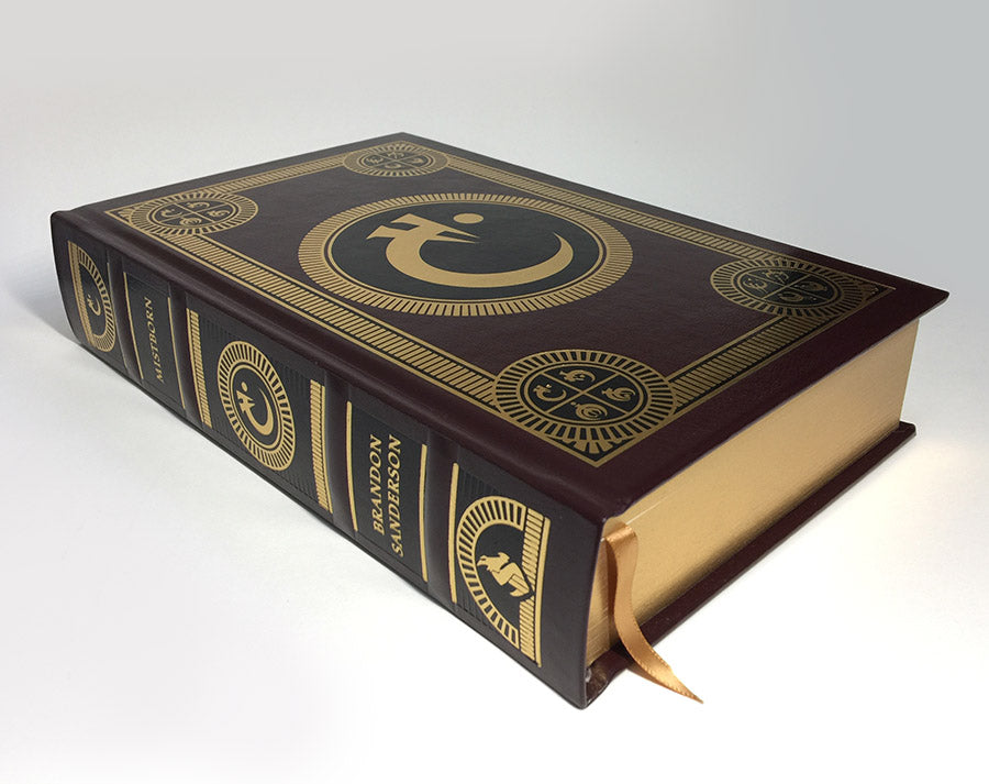 Mistborn Leatherbound Book