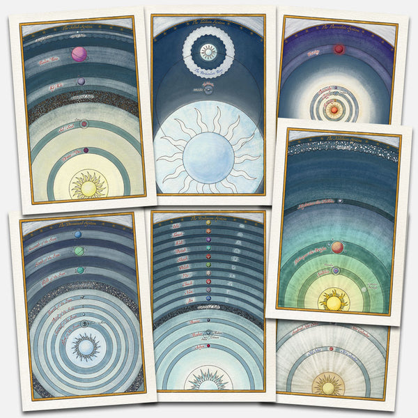 Star Chart Prints Set