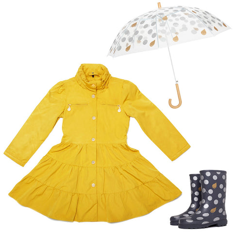 The Lemon Curry<br>Twirl Coat Gift Set