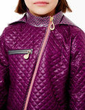Crossbody Jacket<br>Quilted Gloxinia