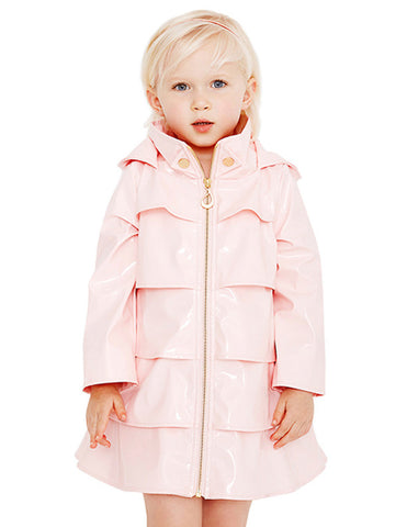 Opera Coat<br>Light Pink Patent