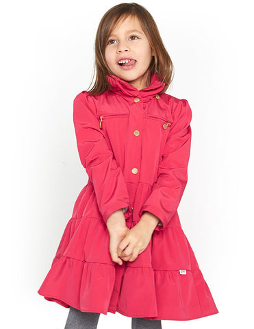 Twirl Coat<br>Berry