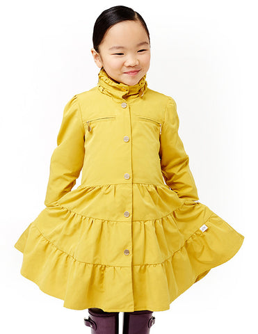 Twirl Coat<br>Lemon Curry