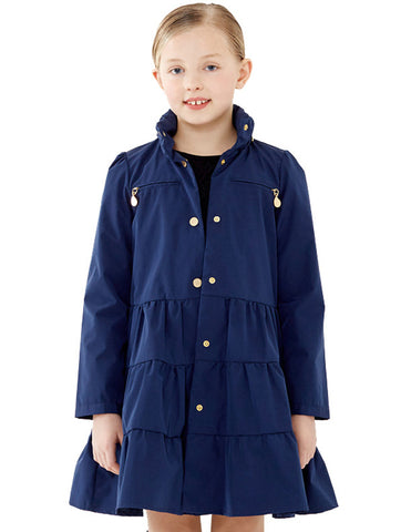 Twirl Coat<br>Navy