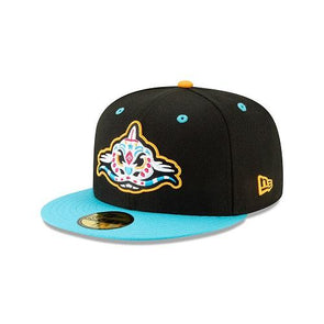 Carolina Mudcats Pescados New Era On-Field Hat