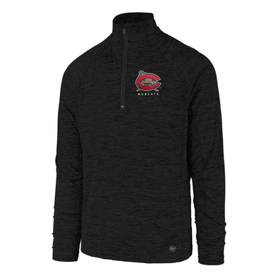 Carolina Mudcats Black Impact 1/4 Zip