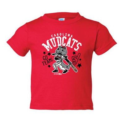 Carolina Mudcats Infant Red Chukka Tee