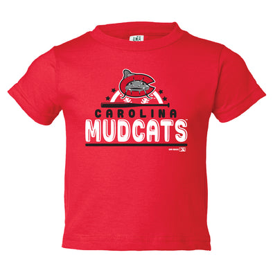 Carolina Mudcats Infant Red Exceptional Tee