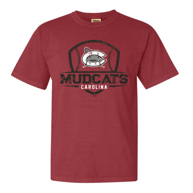 Carolina Mudcats Crimson McBride Comfort Color