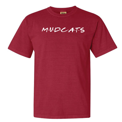 Carolina Mudcats Chili Comfort Colors Tee