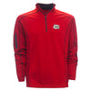 Carolina Mudcats Red Columbia Road Shotgun 1/4 Zip