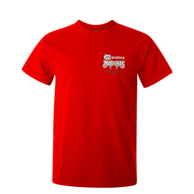 Carolina Mudcats Youth Red C Logo T-shirts