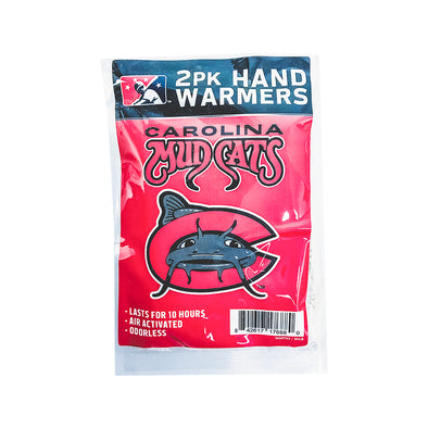 Carolina Mudcats Hand Warmers