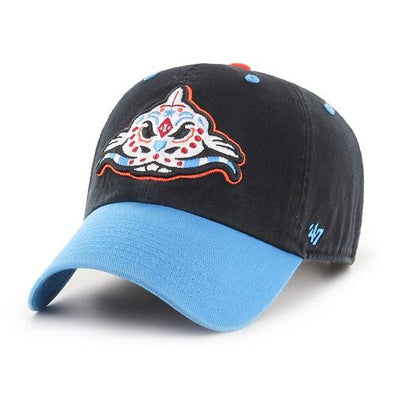 Carolina Mudcats Black/Glacier Blue Pescados '47 Clean Up