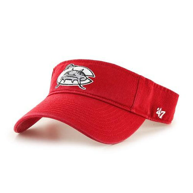Carolina Mudcats Red '47 Clean Up Visor