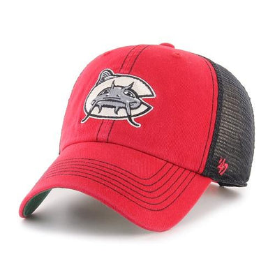 Carolina Mudcats Red/Black Trawler Clean Up