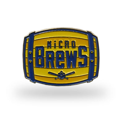 Carolina Mudcats Micro Brews Lapel Pin