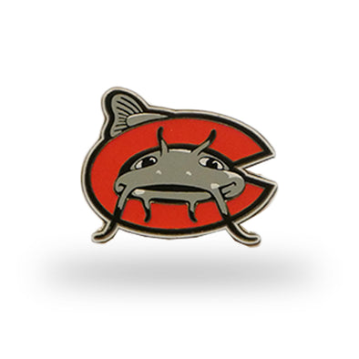 Carolina Mudcats C Logo Lapel Pin