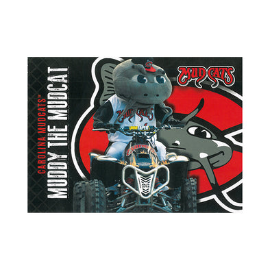 Carolina Mudcats PostCard